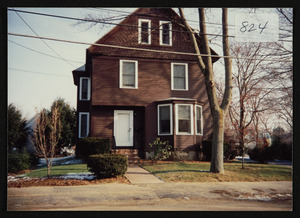 117 Railroad Avenue, winter 1991