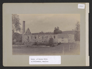 Ruins of Woolen Mills at Willowdale, Hamilton