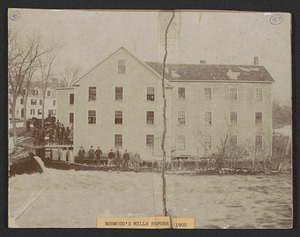 Norwood's Mills before 1900