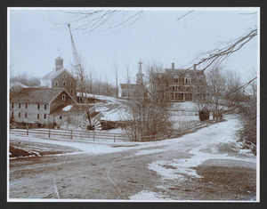 Norwood Mill, Highland Street, Hamilton, on Bank of Ipswich River