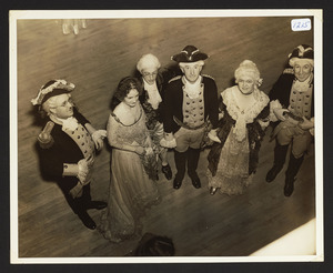 Covered wagon departure ball, December 1937, Hamilton Town Hall