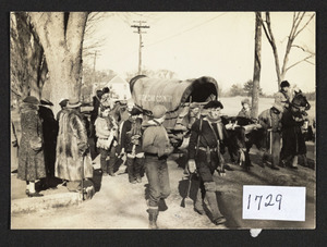 1937 reenactment of trek to Ohio