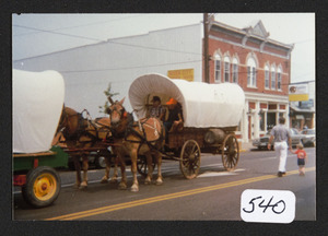 3 covered wagon, Marietta, Ohio