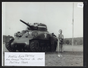 Beatice Ayer Patton, Mrs. George Patton Jr. 1947, Patton Park