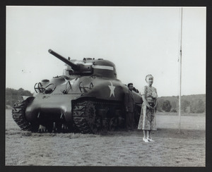 Beatrice Ayer Patton, Mrs. George Patton Jr., 1947, Patton Park