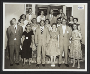 25 year high school reunion of Hamilton High Class of 1936