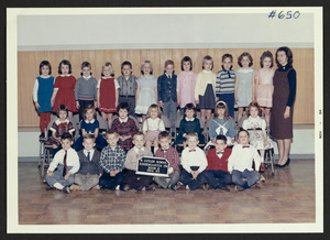 Cutler School, kindergarten, 1964-65