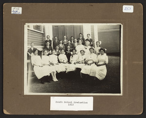 Class of 1912, South School South Hamilton, eighth grades