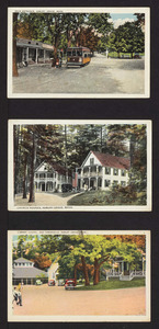 Main entrance, church houses, library, chapel, and tabernacle, Asbury Grove, Mass.