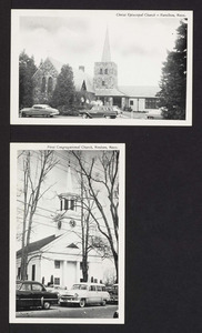Christ Episcopal Church, Hamilton, Mass., First Congregational Church, Wenham, Mass.