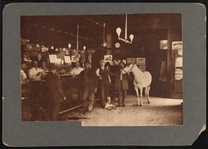Interior of Denny Shay's saloon