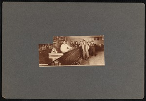 Interior of Allen's Saloon, New Bedford, MA