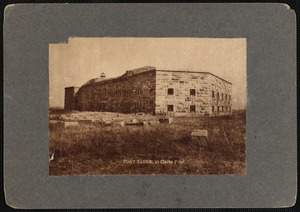 19th century fort at Fort Taber (Fort Rodman)