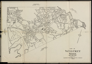 Index map, Town of Wellesley, Norfolk County, Machusetts ... on map of rockingham county nh towns, map of middlesex county ma towns, map of cape cod ma towns, map of litchfield county ct towns,