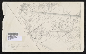 Map of Wellesley, Massachusetts