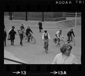 Cyclists on two-mile tour of downtown