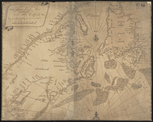 A new chart of ye coast of New Found Land, New Scotland and New England &c.