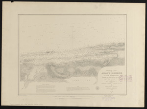 Preliminary chart of Agate Harbor, Lake Superior