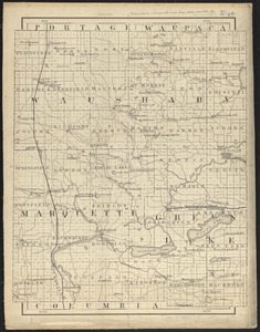 Waushara, Marquette, and Green Lake Counties, Wis.