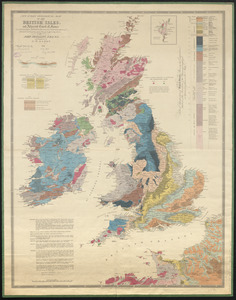 New index geological map of the British Isles, and adjacent coast of France constructed from published documents, communications of eminent geologists, and personal investigation
