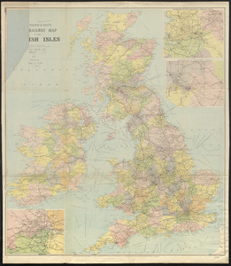 W.H. Smith & Son's new railway map of the British Isles