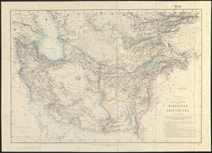 Sketch of the countries between Hindustan and the Caspian Sea