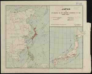 Japan and its relation to the territory bordering on the Pacific Ocean