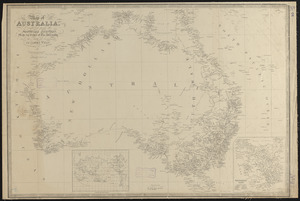 Map of Australia, compiled from the nautical surveys, made by order of The Admiralty and other authentic documents