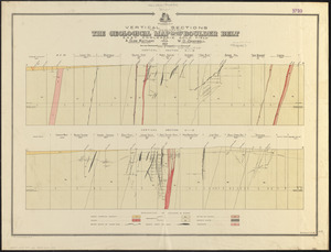 Vertical sections to accompany the geological map of the Boulder Belt, East Coolgardie, G.F.