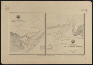 Dominion of Canada, Gulf of Saint Lawrence, Amherst Harbor (Magdalen Islands)