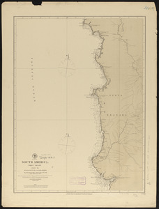 South America, west coast, sheet 19, Buenaventura to Cape Marzo