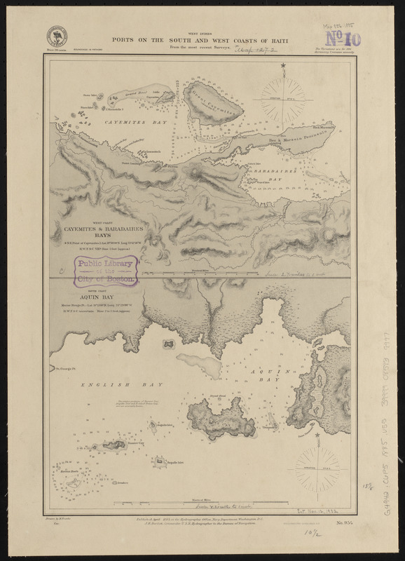 West Indies, ports on the south and west coasts of Haiti
