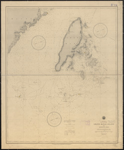 North America, Bay of Fundy, Grand Manan Island and adjacent coast