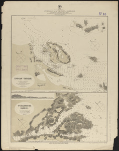 North America, east coast, anchorages on the n.e. coast of Labrador