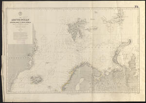 The Arctic Ocean between Greenland and Nova Zemla and between the 60th and 82d parallels of latitude