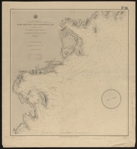 Dominion of Canada, Nova Scotia - south coast, Port Mouton and Liverpool Bay
