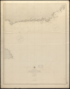 North America, Dominion of Canada, Gulf of Saint Lawrence, south coast of Quebec from Washtawooka Bay to Cape Mackinnon