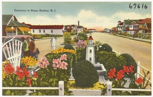 Entrance to Stone Harbor, N. J.
