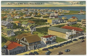 Aerial view of 96th Street, Stone Harbor, N. J.