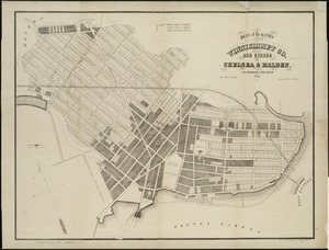 Plan of the lands of the Winnisimmet Co. and others in Chelsea & Malden
