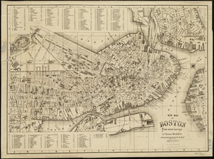 New map of Boston from latest surveys