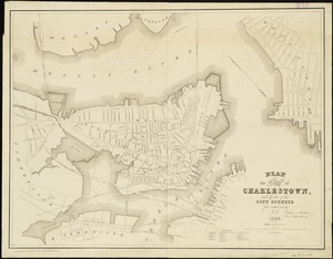 Plan of the city of Charlestown