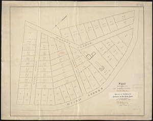"Plan of building lots on the ""Kimball"" Estate Arlington, Mass. ... at 3 o'clock p.m"