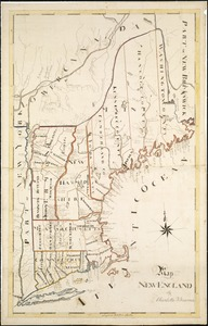 Map New England