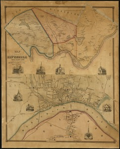 Map of the town of Haverhill, Essex County, Mass