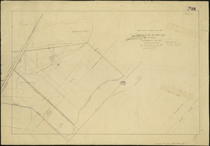 [Plan of property in the Cambridgeport marshes]