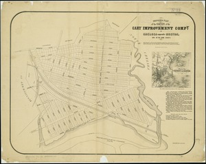 Proposed plan of the estate of the Cary Improvement Compy