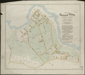 Plan of Ocean View, Pigeon Cove, Mass