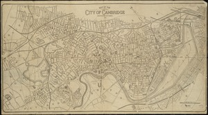 Map of the city of Cambridge