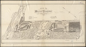 Plan of Milton Cemetery